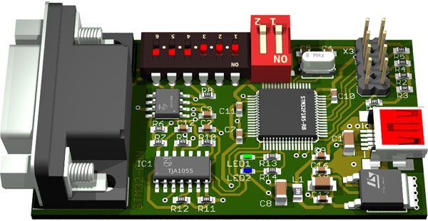 STM32-CAN-Bus Interface